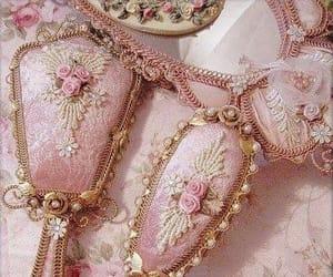 pink, vintage, and mirror image
