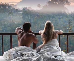 bali, couple, and paradise image