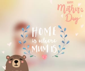 home, mom, and mother's day image