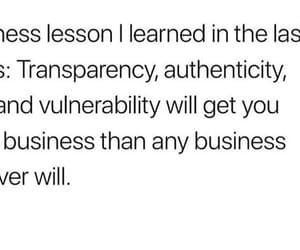 authenticity, honesty, and transparency image