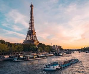 la Seine, paname, and paris image