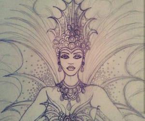 carnaval, negro, and calamar image