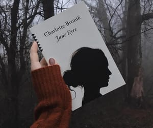 books, charlotte bronte, and forest image