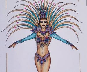 carnaval, diseno, and traje image