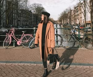 accesories, beret, and black boots image