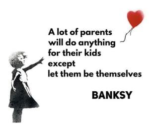 BANKSY, individual, and parents image