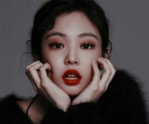 asian, beautiful, and blackpink image