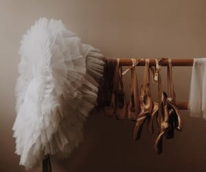 ballet, beige, and shoes image