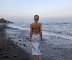 fashion, ocean, and summer image