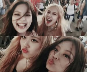 kpop, rose, and jennie image