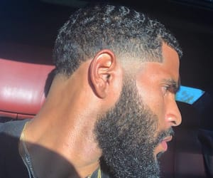 beards, waves, and temple fade image