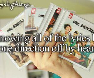 just girly things and one direction image