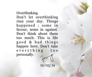 lessons, life, and overthinking image