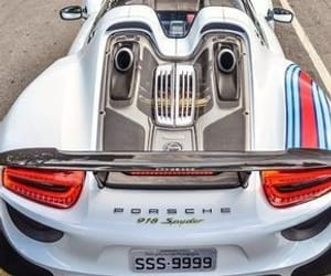 cars, porsche, and white image