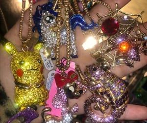angel, grunge, and jewelry image