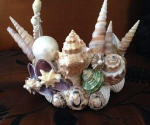 crown, fantasy, and mermaid image
