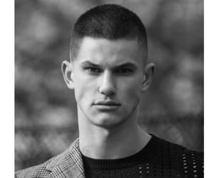 black and white, fashion, and male model image