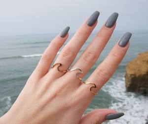 aesthetic, nails, and beauty image