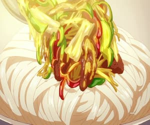 anime, udon, and anime ramen image