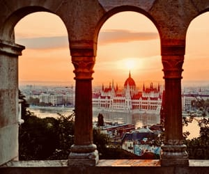 city, beautiful, and budapest image