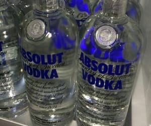 vodka, alcohol, and absolut image