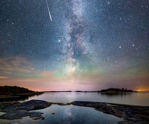 cielo, estrellas, and Noche image