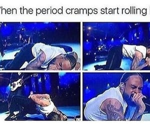 cramps, funny, and period image