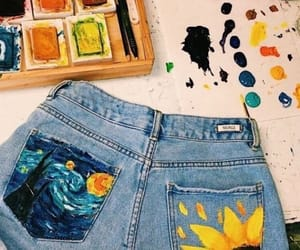 art, paint, and diy image