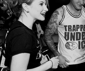 black and white, hayley williams, and photography image