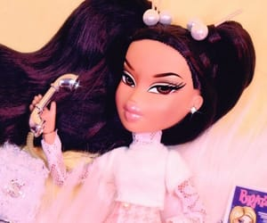 bratz, doll, and pink image