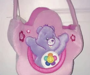 care bears, nostalgia, and pink image