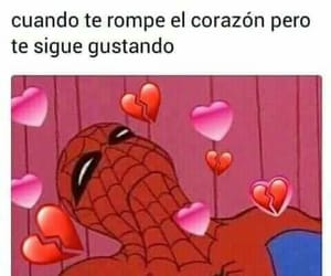 crush, spider-man, and frases image