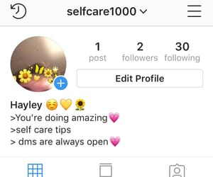 new page, self care, and instagram image
