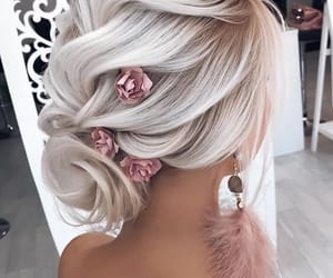 blond, details, and hair image