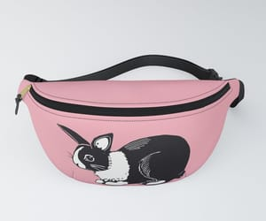 accessories, bunny, and fanny pack image