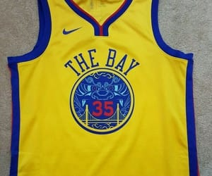 nike, the bay, and warriors image