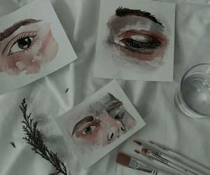 art, aesthetic, and eyes image