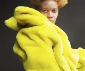 editorial, fashion, and yellow image
