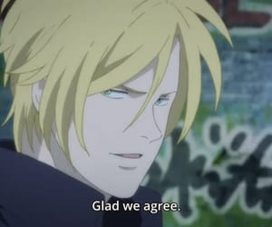 anime and banana fish image