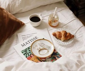 breakfast, croissant, and pastry image