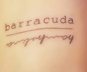 barracuda, ligabue, and tattoo image