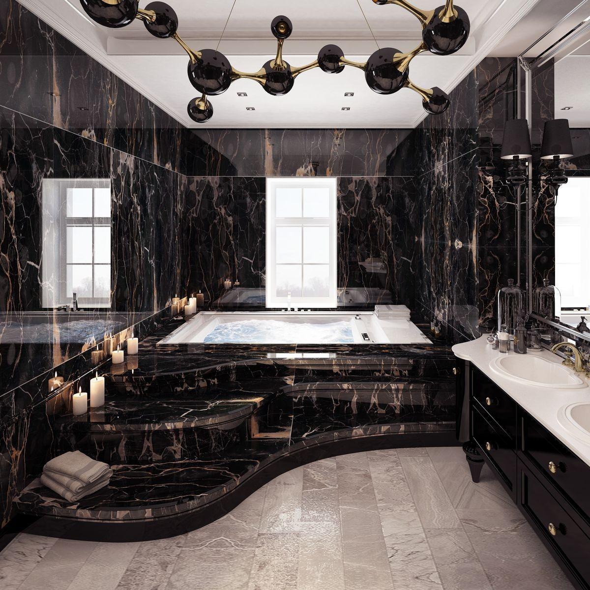 Jacuzzi Tub Master Bathroom It On We Heart It