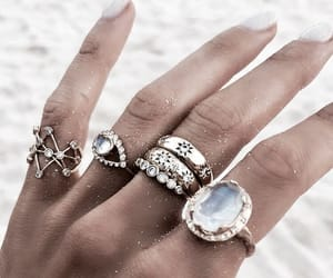accessories, diamonds, and rings image