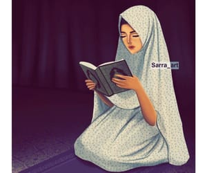 art, girl, and رَسْم image