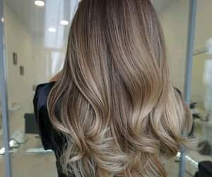 blonde, long hair, and blonde hair image