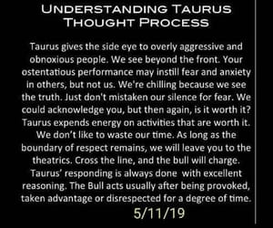 astrology, taurus, and words image