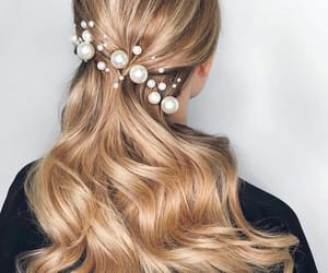 accessories, beautiful, and hairstyle image