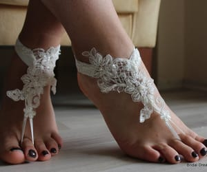 accessories, beach shoes, and wedding sandals image
