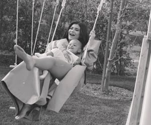 daughter, kylie jenner, and family image