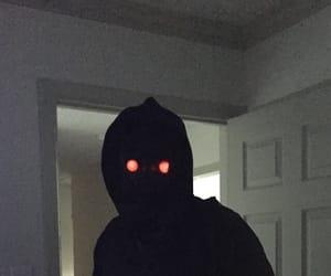 creepy, black, and goth image